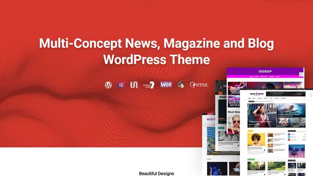 Best Responsive Magazine WordPress Themes is the theme list