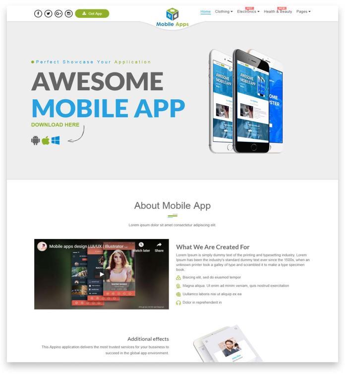 Flipmart - Responsive Ecommerce WordPress online shop theme
