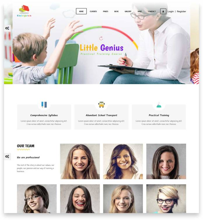 LMS | Learning Management System, Education WordPress Theme