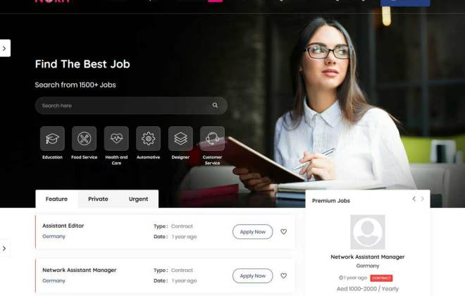 Best Job Portal WordPress Themes