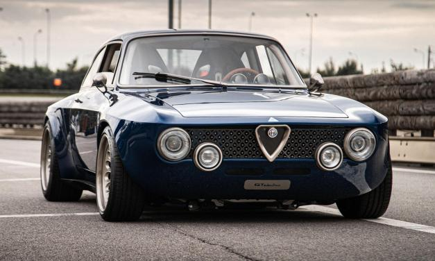 This Alfa Romeo Giulia GT Restomod Is An Electric Conversion Done Right