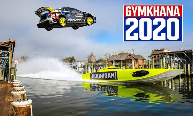 Travis Pastrana Takes On Gymkhana 2020 In Adrenaline-Fuelled Stunt Driving