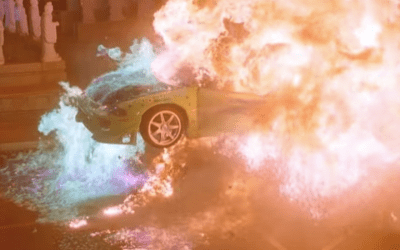 Fast And Furious Brian's Eclipse Explosion: How Was It Done?