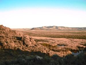 Oregon Desert Landscapre