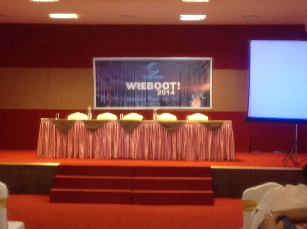 WREBOOT 2014 - Let's re-program our systems.. (1/2)