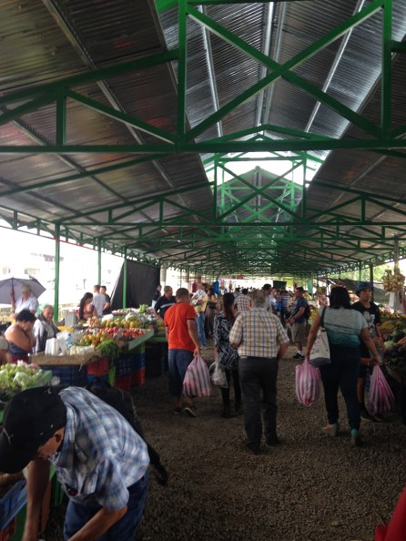 Farmer's market in Turrialba CR, every Friday and Saturday.