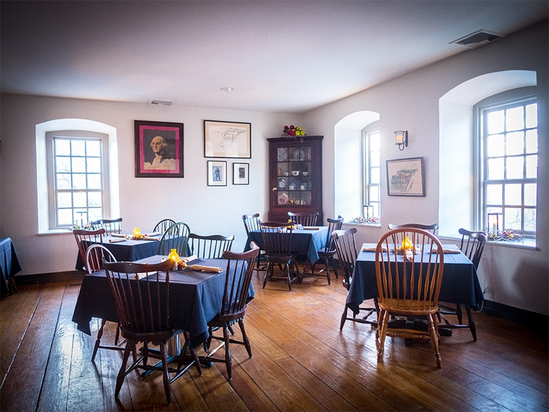 Dining Room at the Tavern at the Sun Inn