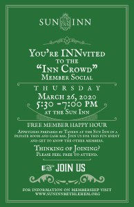 Inn Crowd Invite.March
