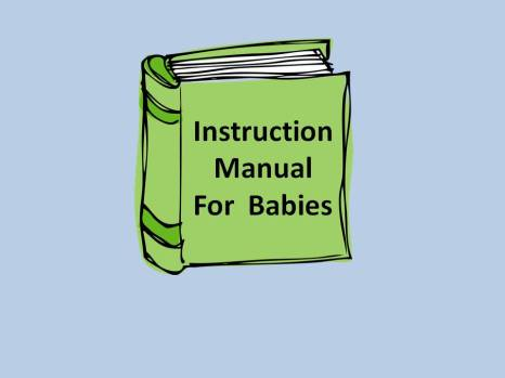 baby instruction manual