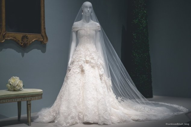 Custom Wedding Dress for Amal Clooney