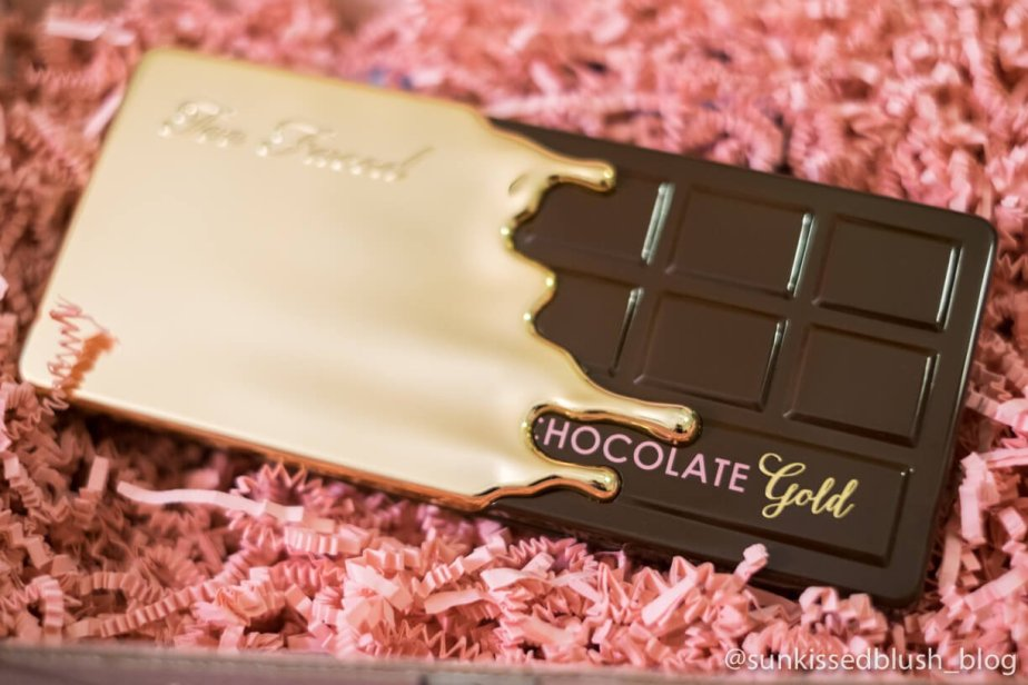Too Faced Chocolate Gold Video Review