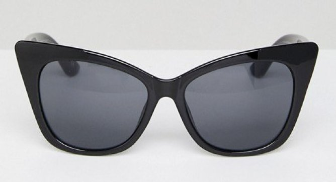 ASOS Basic Cat Eye Sunglasses