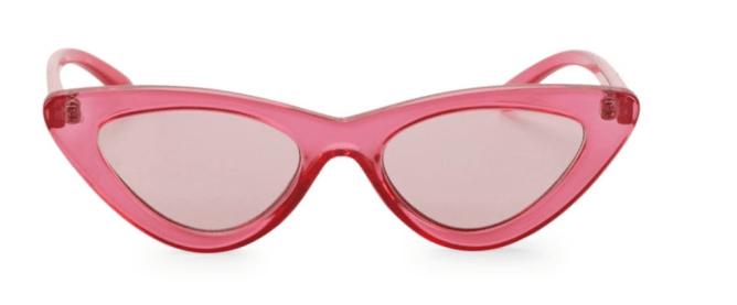 Adam Selman x Le Specs Luxe The Last Lolita Pink Sunglasses