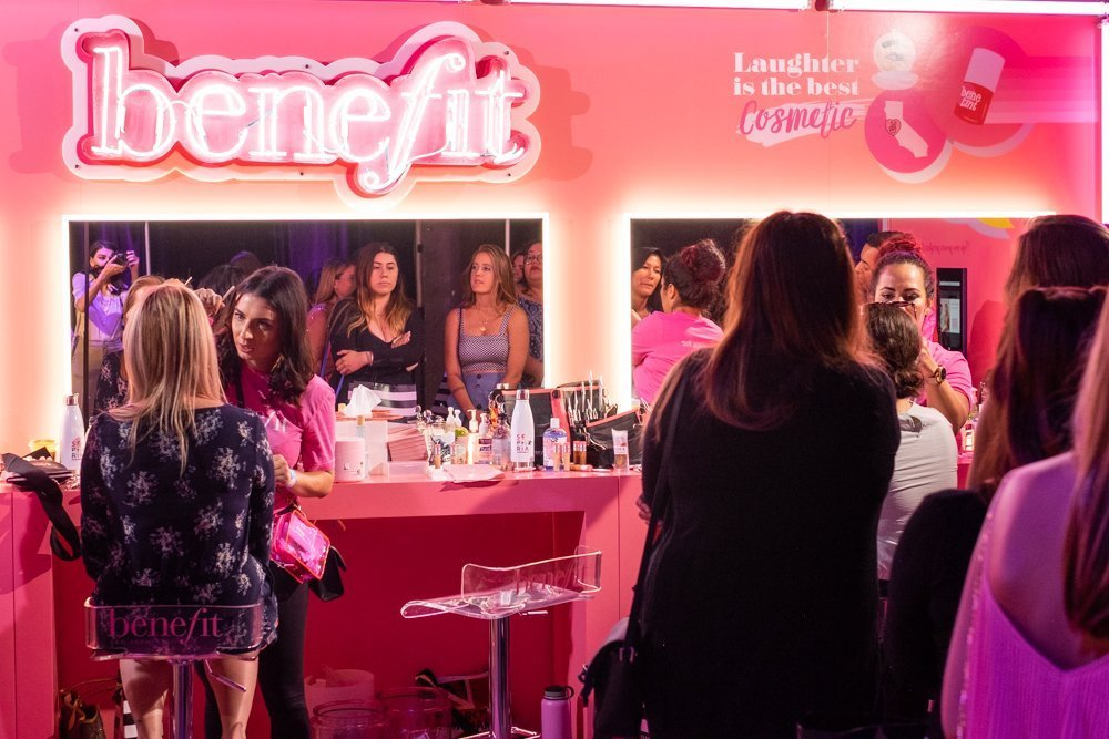 benefit brow bar at Sephoria House of Beauty