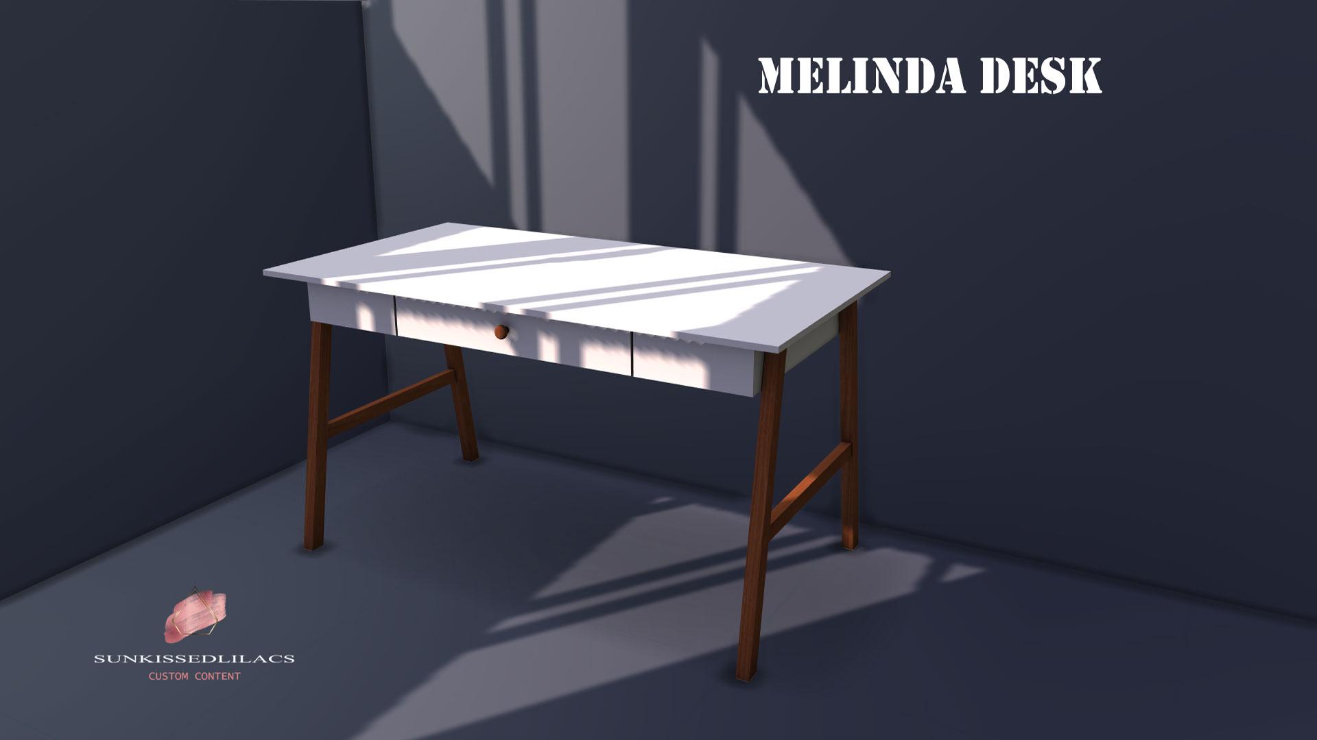 Melinda desk, sunkissedlilacs-simms-4-custom-content