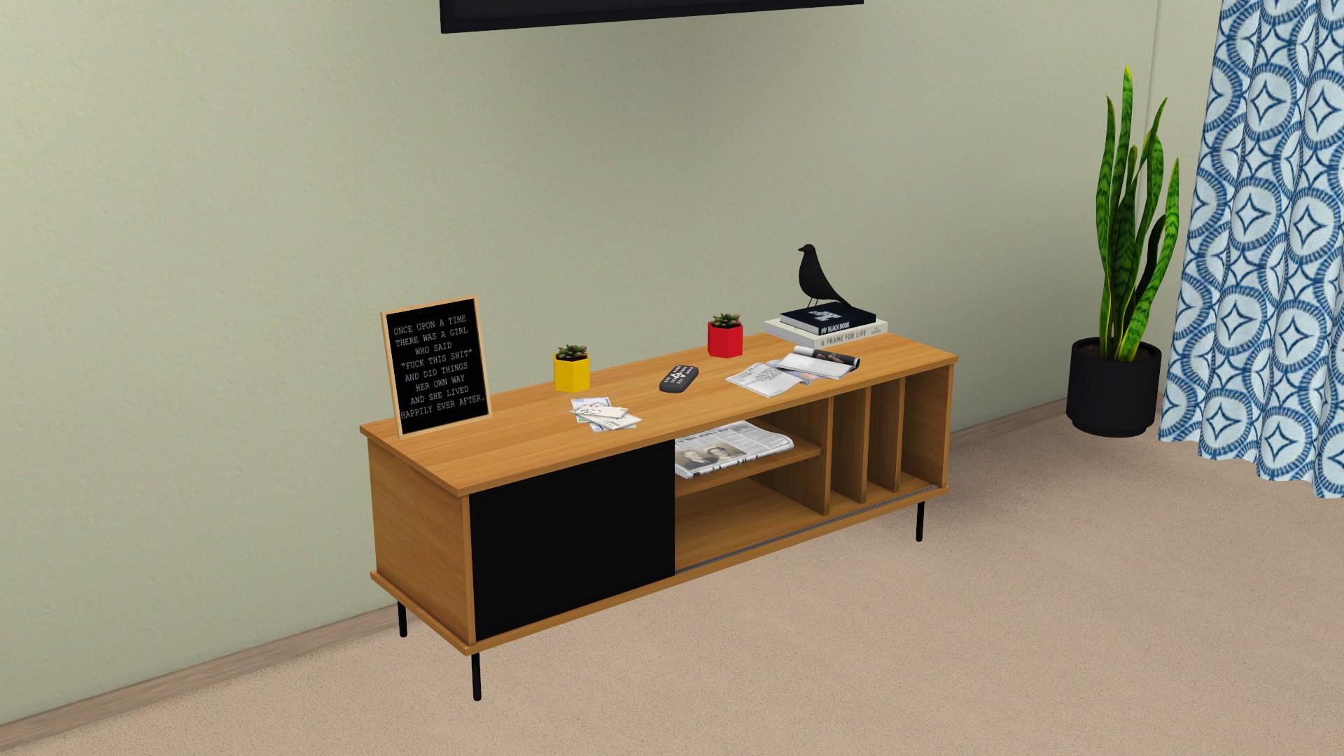 Farsund TV Unit, high quality sims 4 cc, sunkissedlilacs, free sims 4 furniture, sims 4 custom content,