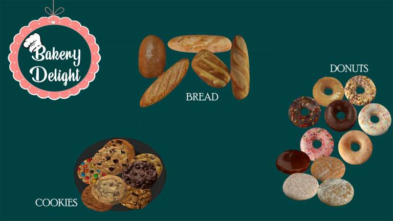 Bakery Delights, high quality sims 4 cc, sunkissedlilacs, free sims 4 furniture, sims 4 custom content,