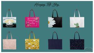 Hanging Tote Bag, high quality sims 4 cc, sunkissedlilacs, free sims 4 furniture, sims 4 custom content,