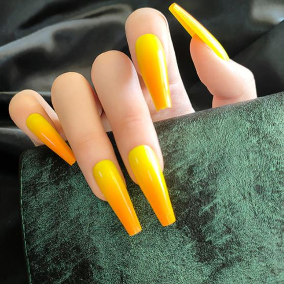Yellow Ombre