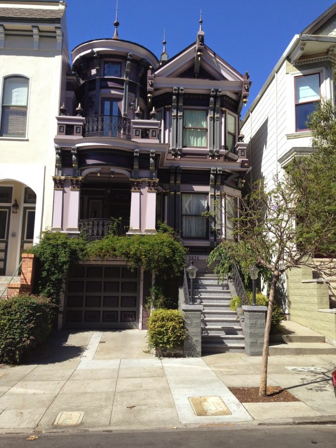 purple victorian sf