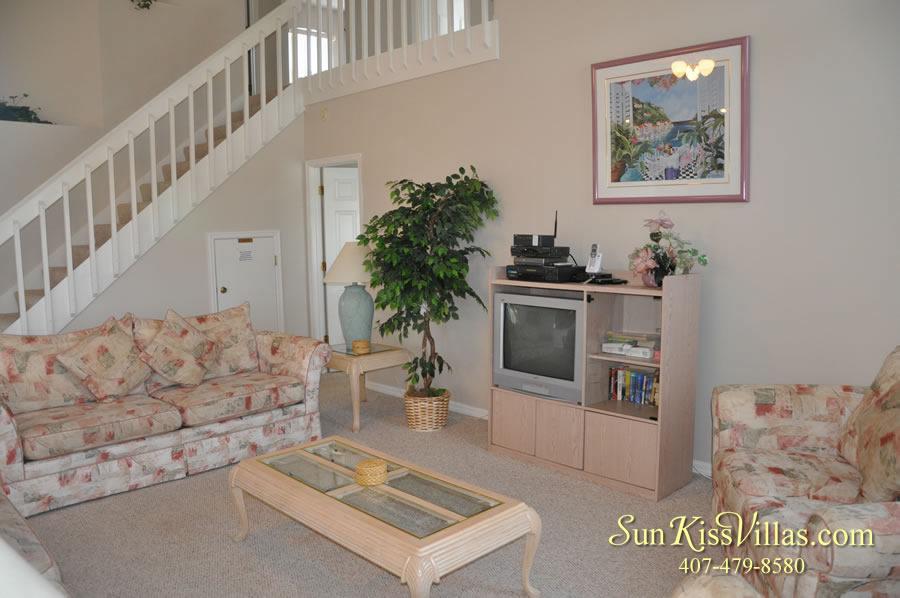 Vacation Rental Near Disney - Bahama Breeze - Family Room