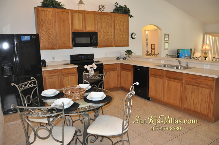 Orlando Vacation Rental Home Near Disney - Cypress Grand - Kitchen