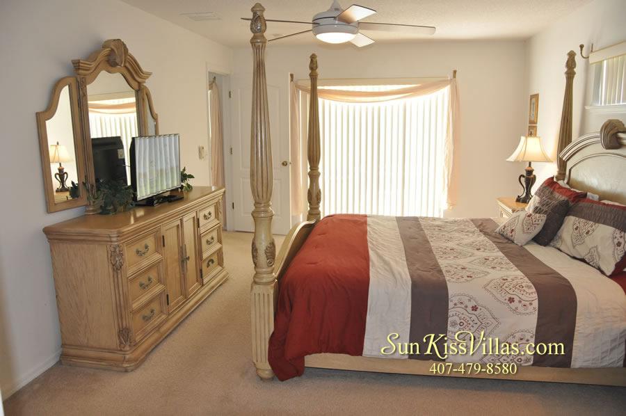 Orlando Vacation Rental Home Near Disney - Cypress Grand - Master Bedroom