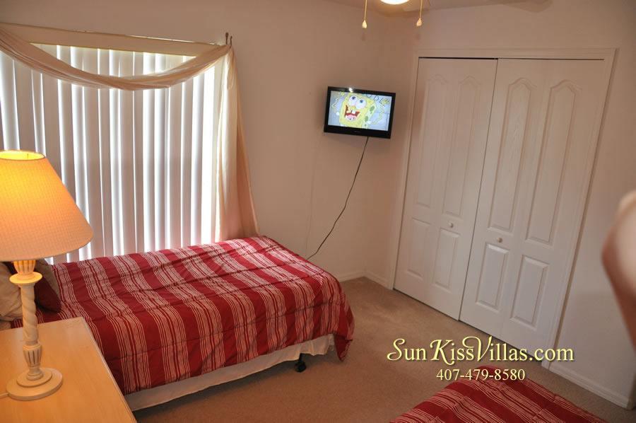 Orlando Vacation Rental Home Near Disney - Cypress Grand - Twin Bedroom