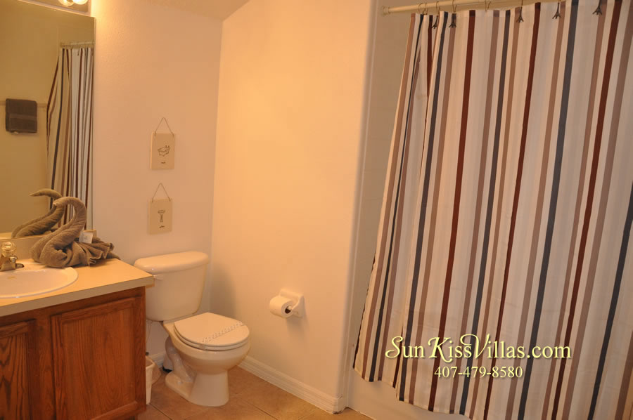 Orlando Vacation Rental Home Near Disney - Cypress Grand - Bathroom