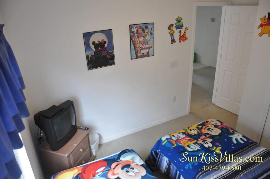 Orlando Vacation Rental - Disney Fun - Twin Bedroom