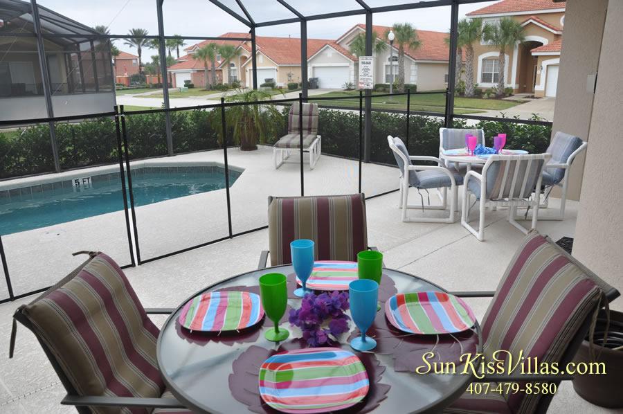 Solana Resort Vacation Rental Near Disney - Disney Gem - Pool and Covered Lanai
