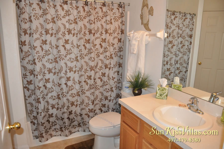 Solana Resort Vacation Rental Near Disney - Disney Gem - Bathroom