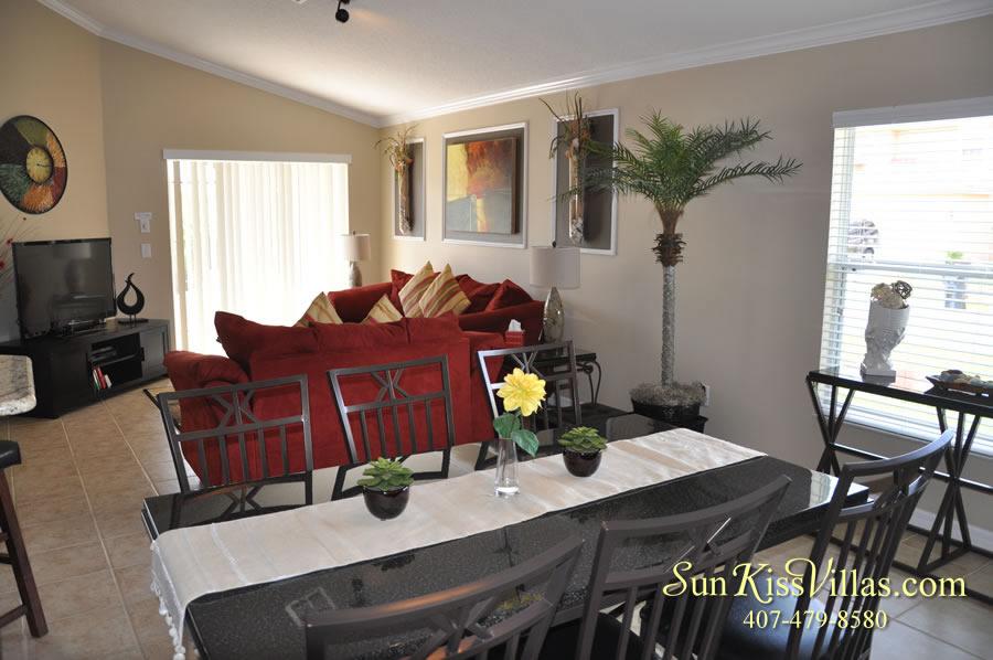 Solana Resort Vacation Rental Near Disney - Disney Gem - Dining and Family Rooms