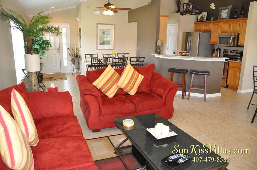 Solana Resort Vacation Rental Near Disney - Disney Gem - Family Room