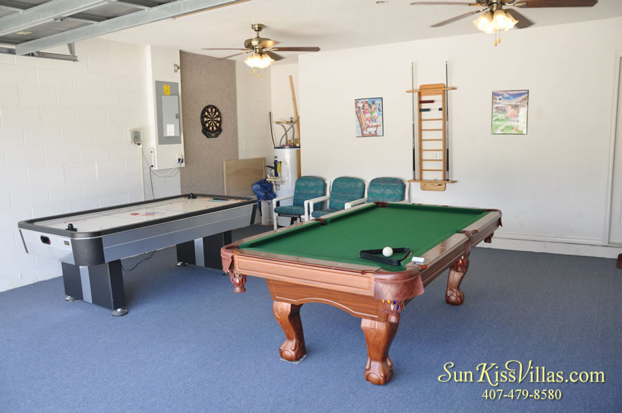Disney Vacation Home Rental - Disney Palms - Game Room