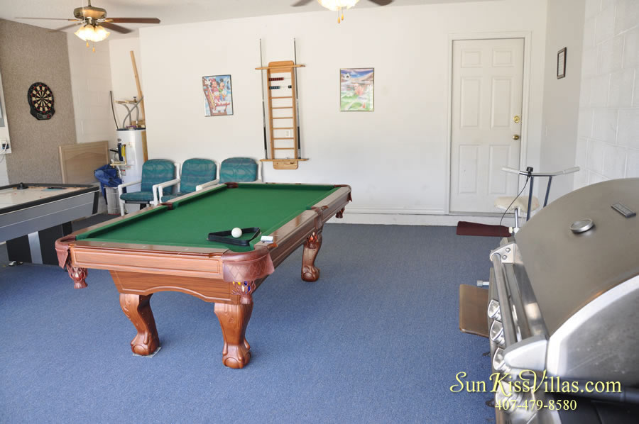 Disney Palm Vacation Home Rental - Game Room