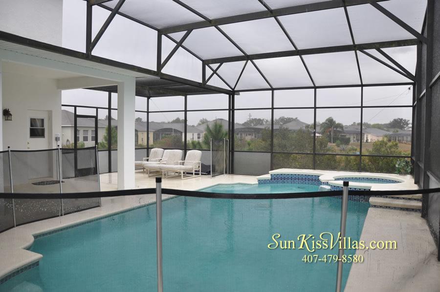 Orlando Disney Vacation Home Rental - Grand Hereon - Pool