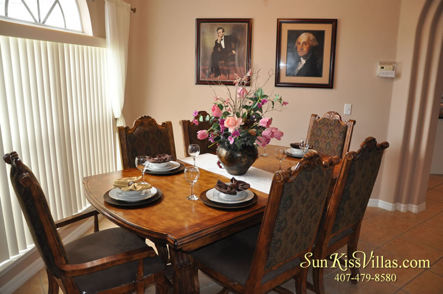 Orlando Disney Vacation Home Rental - Grand Hereon - Dining