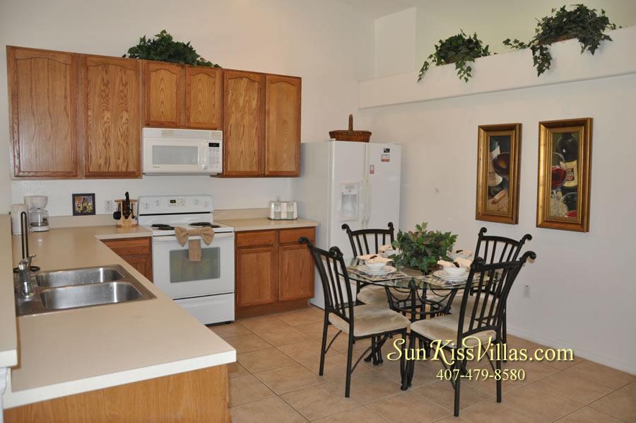 Orlando Disney Villa Rental - Grand Palms - Kitchen