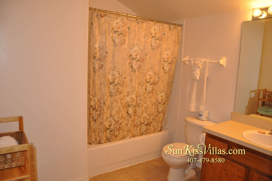 Orlando Disney Villa Rental - Grand Palms - Bathroom