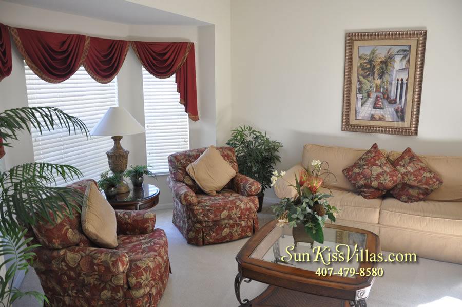 Disney Vacation Villa - Henley Park - Living Room