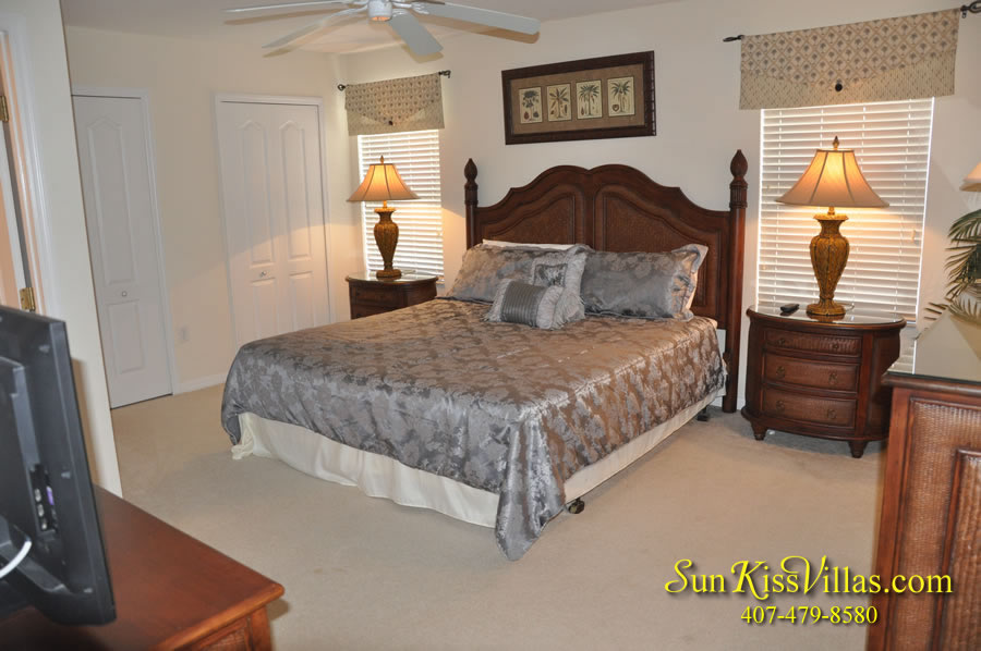 Disney Vacation Villa - Henley Park - Bedroom