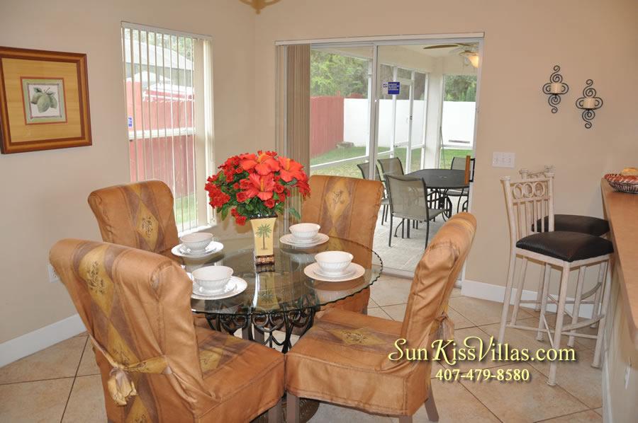 Orlando Villa Rental Near Disney - Keystone - Dining