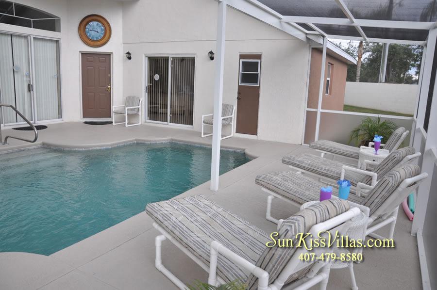 Orlando Villa Rental Near Disney - Keystone - Pool
