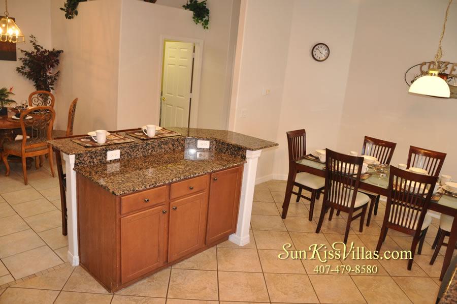 Disney Solana Vacation Rental Home - Mermaid Point - Kitchen and Breakfast