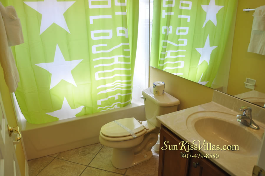 Disney Solana Vacation Rental Home - Mermaid Point - Bathroom