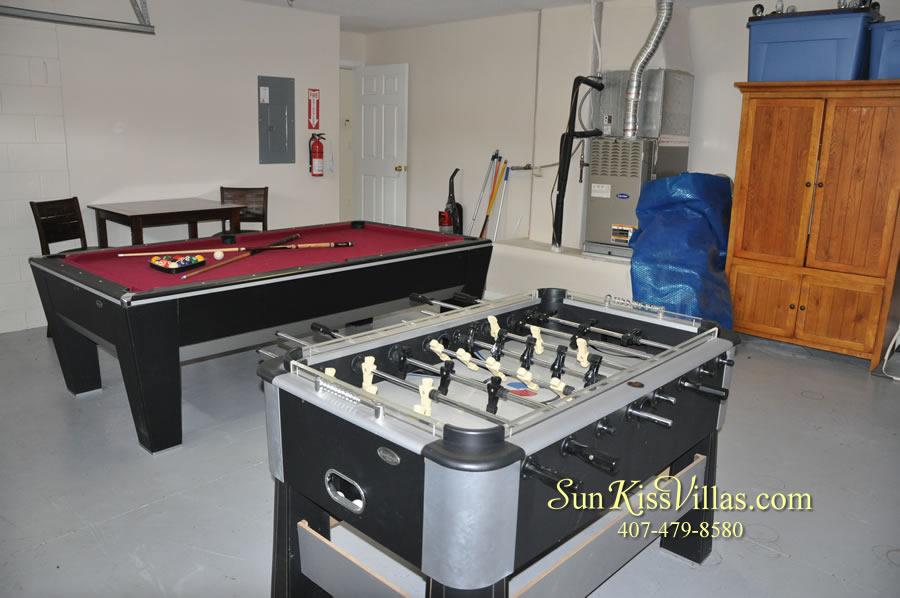 Disney Solana Vacation Rental Home - Mermaid Point - Game Room