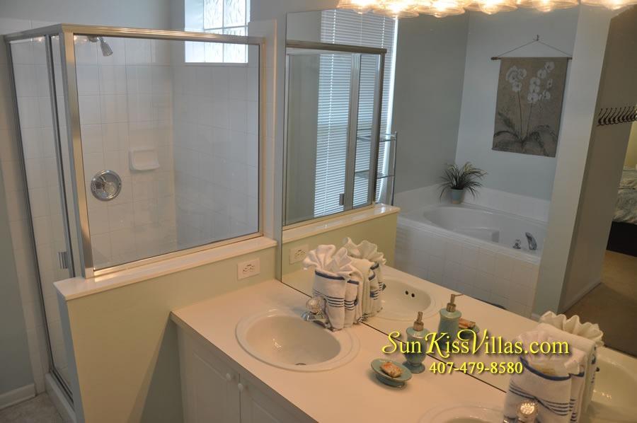 Disney Vacation Rental Home - Mickey's Cottage - Master Bath