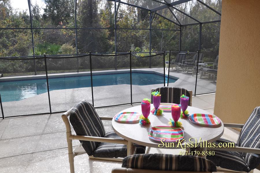 Vacation Villa Near Disney - Misty Cay - Pool and Covered Lanai