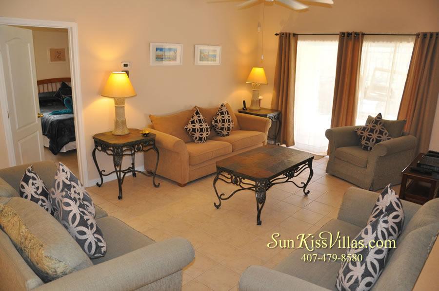 Vacation Villa Near Disney - Misty Cay - Family Room